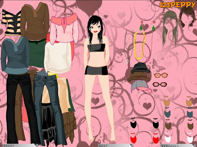 Shopping Fashion  Dress Games on Online Dress Up And Fashion Games   A Short Information At Gaming Zone