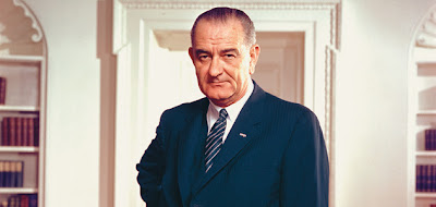 It was LBJ.
