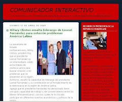 Comunicador Interactivo: CON NOSOTROS LAS COMUNIDADES HABLAN