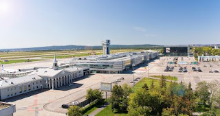 Koltsovo airport panorama
