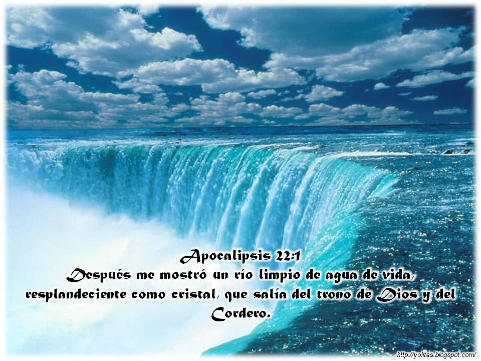 Paisajes Con Versiculos Apocalipsis 22 1