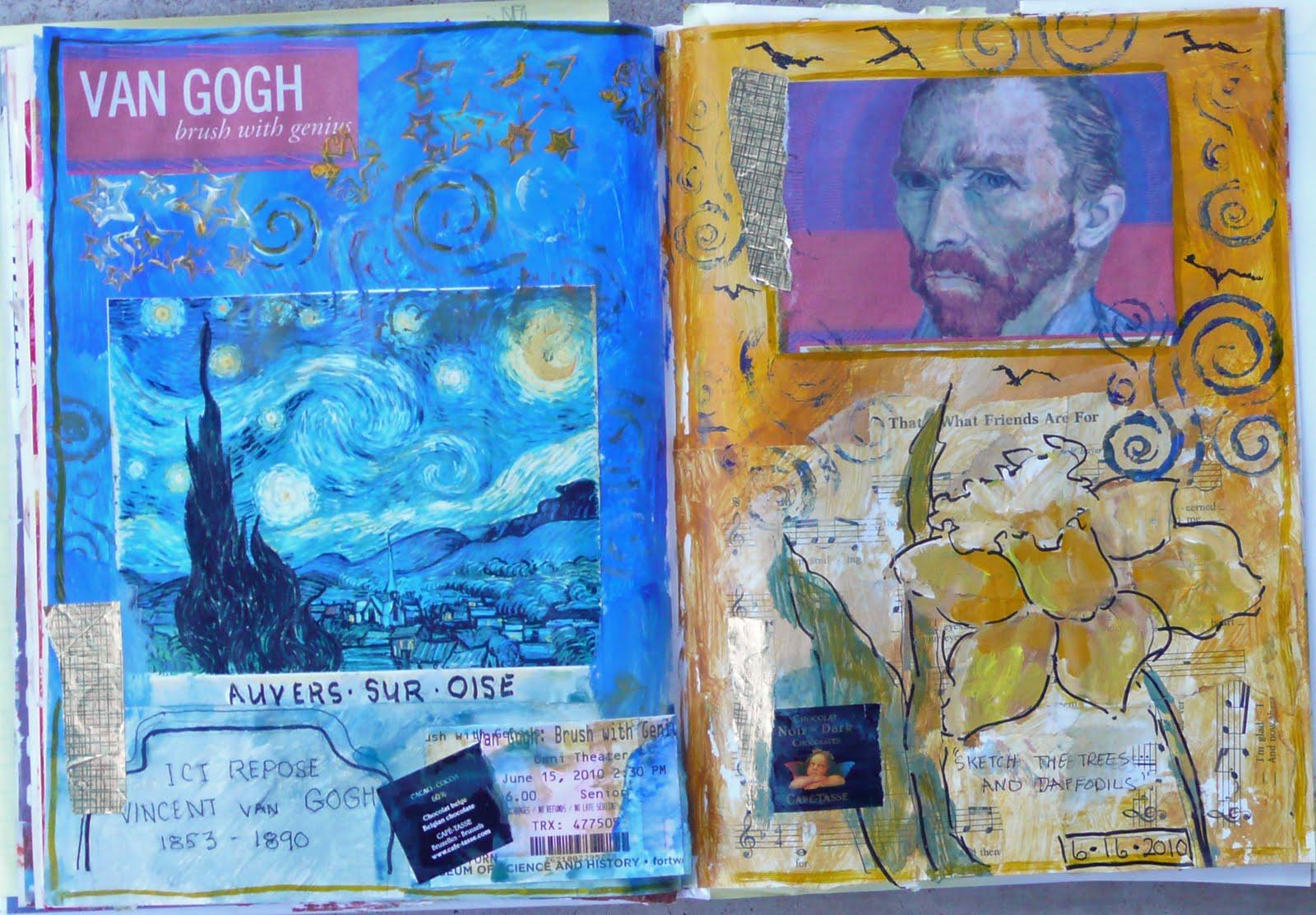 Набор из 30 открыток : Работы Винсента Ван Гога 12