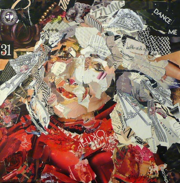 torn paper collage artists The mediums used are oil, acrylic, mixed media and torn paper collage n nancy standlee fine art: 8174963330 home collage torn paper and hand painted.