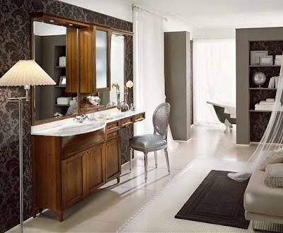 Luxury and Classic Bathroom Interior Furniture