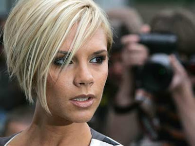 Celebrity victoria Beckham,short hairstyles