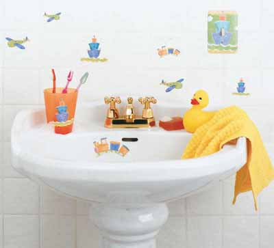 Kids Bathroom Decorating Idea