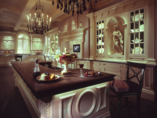 as well as kitchen other luxury spaces with a gourmet kitchen