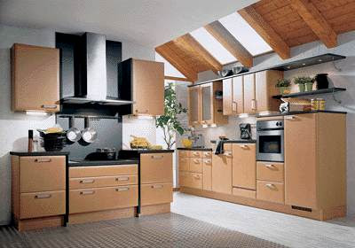 Contemporary kitchen design for kitchen decoration