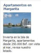 Venta de Apartamentos en Margarita