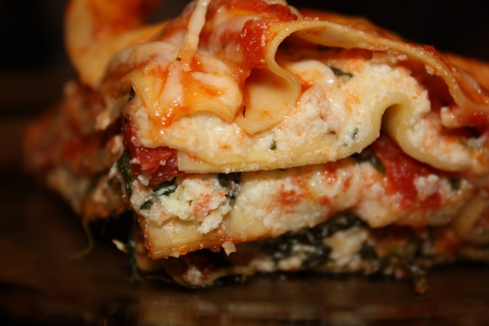 lasagna italian sausage and spinach lasagna easy spinach lasagna love ...