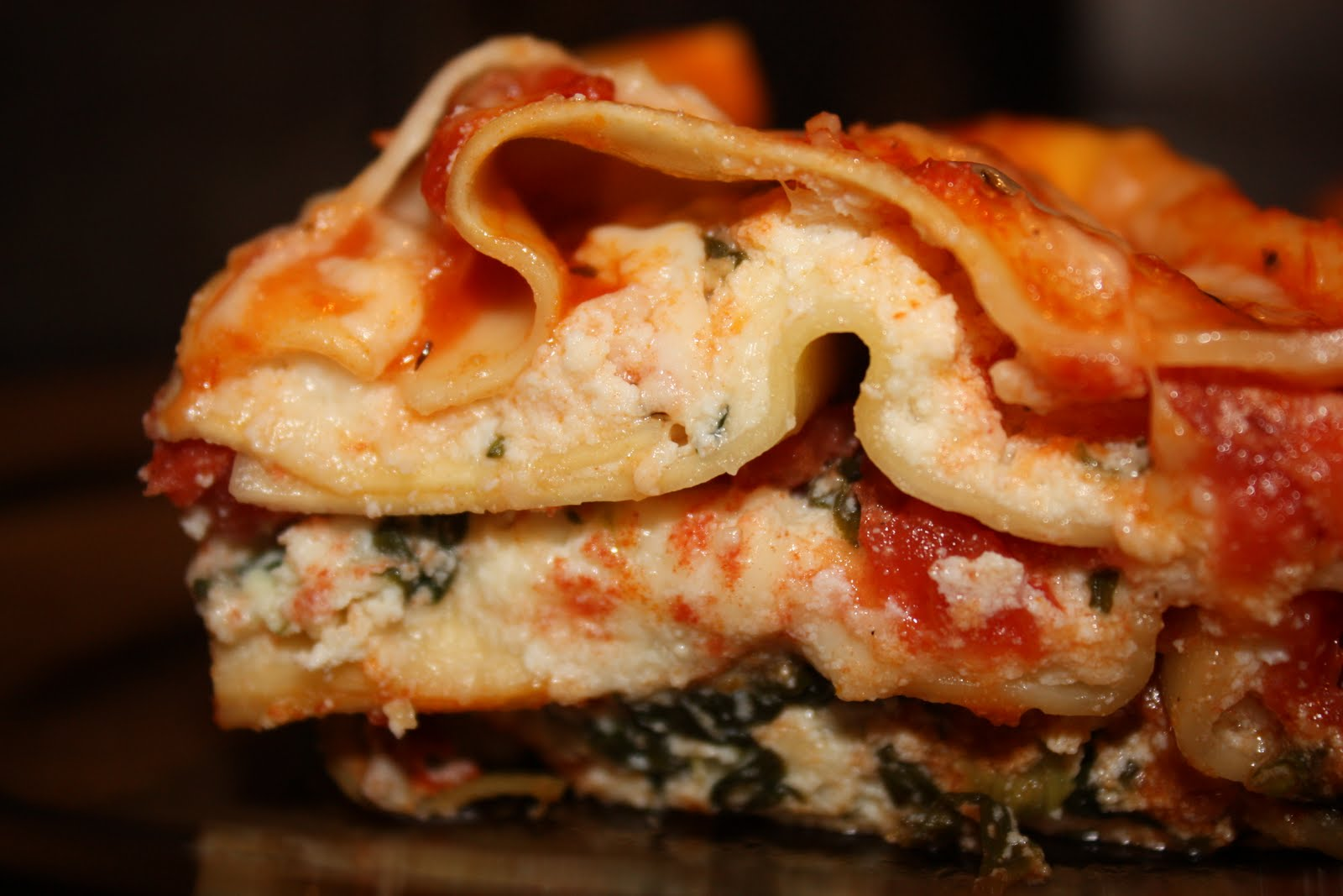 Living like the Kings: Super Easy Spinach Lasagna