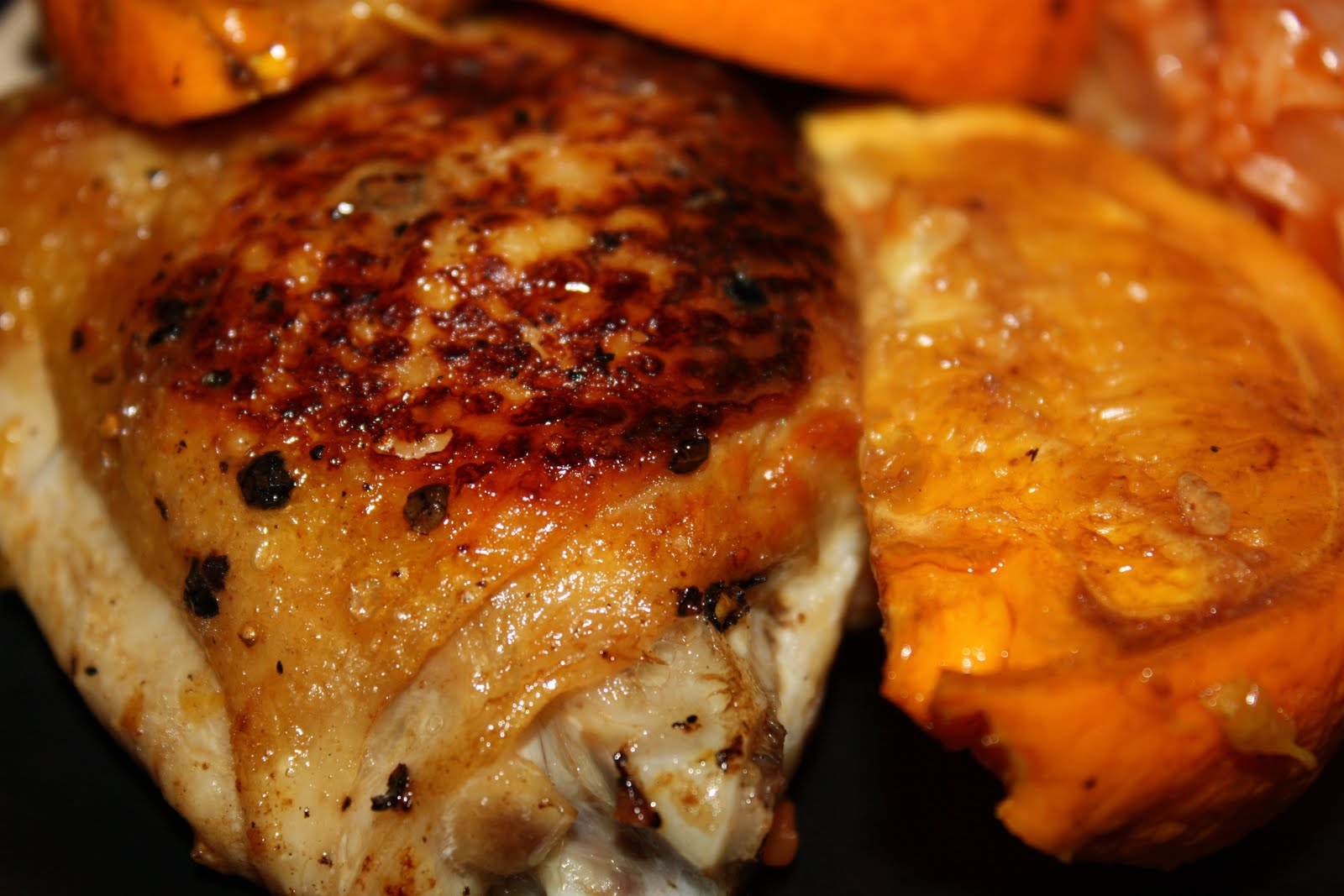 Living like the Kings: Orange and Balsamic Chicken