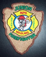Junior Firefighter Indiana Dunes Patch
