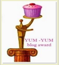 Yum Yum Blog award from Babli