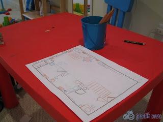 Eğitici aktiviler – Evin veya odanın haritasını yapalım