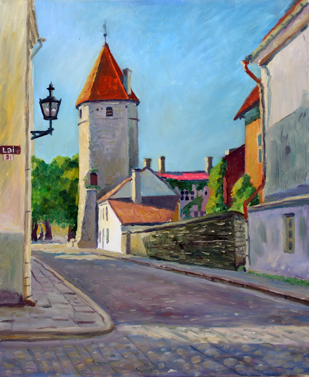 2.Lai Street-3,oil on canvas,61x50 cm,Estonia 2009