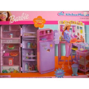 Kitchen Play Set Barbie All Around Home Kitchen Playset W