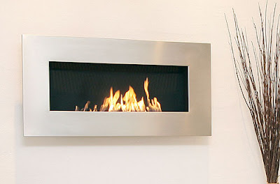 fireplaces without chimney