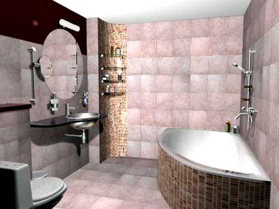 bathroom design: colors choice