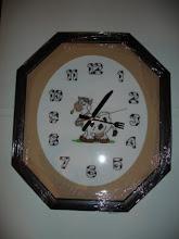 Relógio Vaquinha Mumu