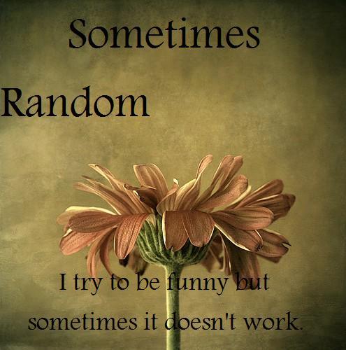 Sometimes Random