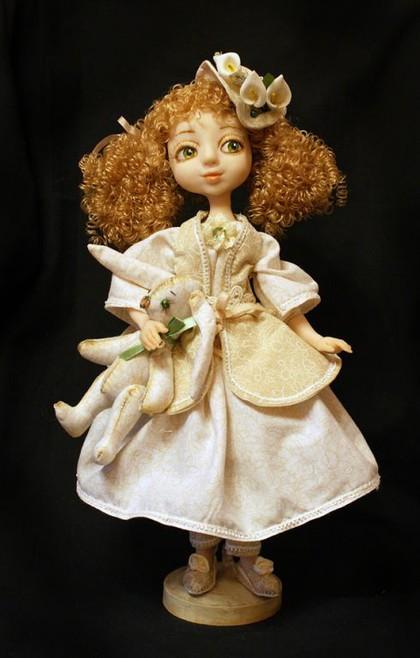 Куклы своими руками из полимерной глины