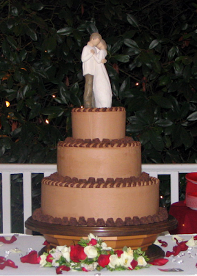 Willow Tree Wedding Cake Topper