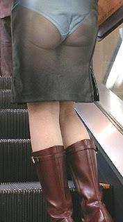 see thru skirt