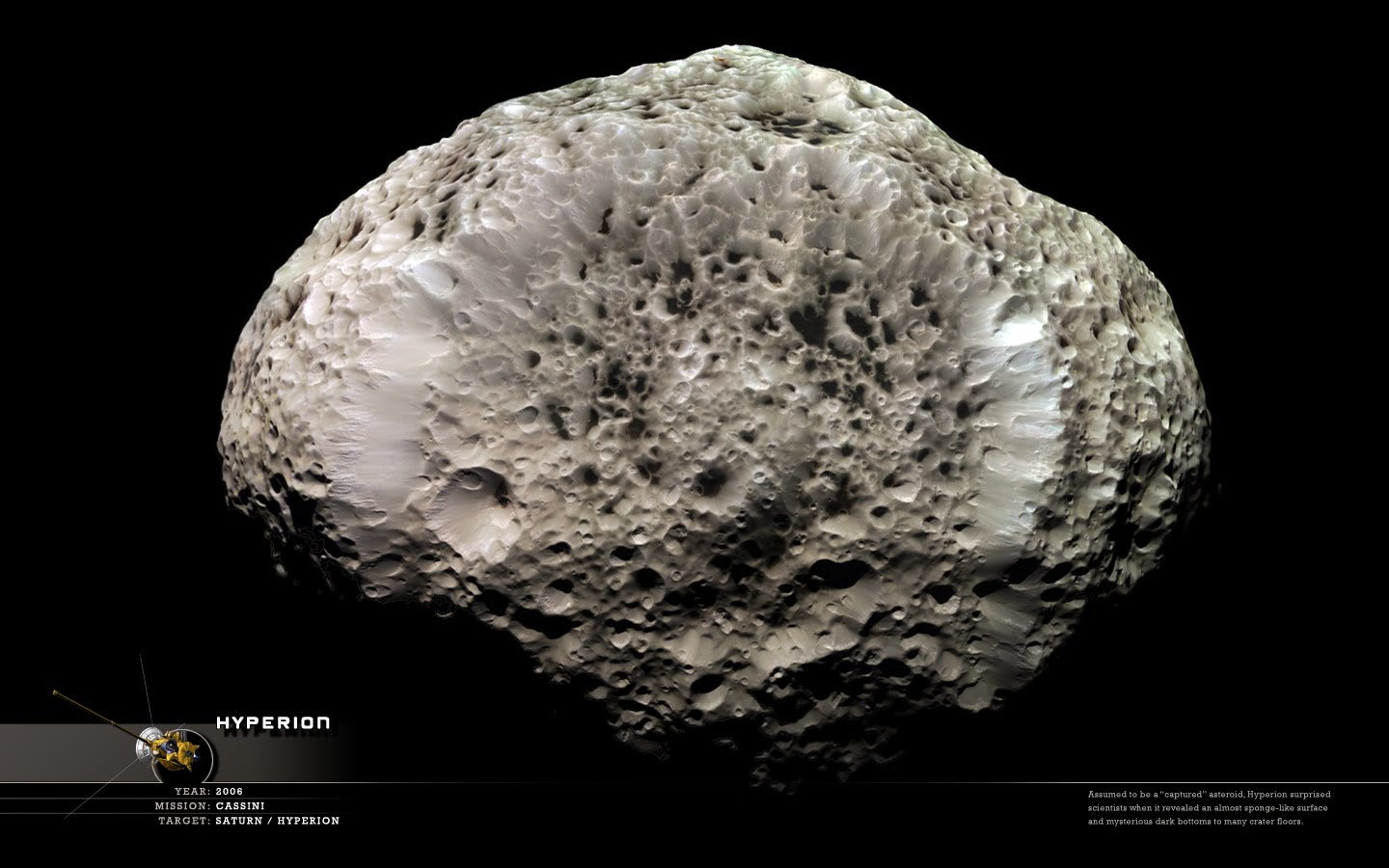 Miscellaneous Pics: Hyperion (moon)