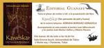 INVITACIÓN Editorial Guanaye(pinchar la imagen para mas información)