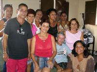 Visita al Módulo de  Barrio Adentro del Sector Las  Tejerias. Municipio Santos Michelena