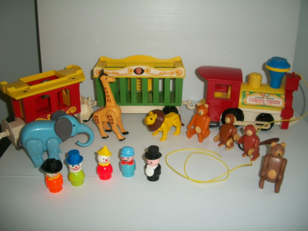 Fisher Price Toys : Wastin time vintage fisher price toys