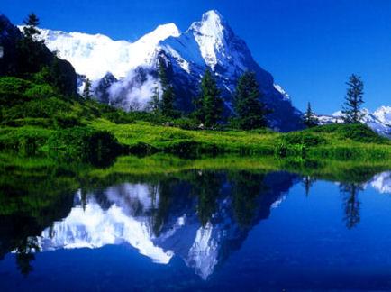Planine Switzerland-mountain-lake