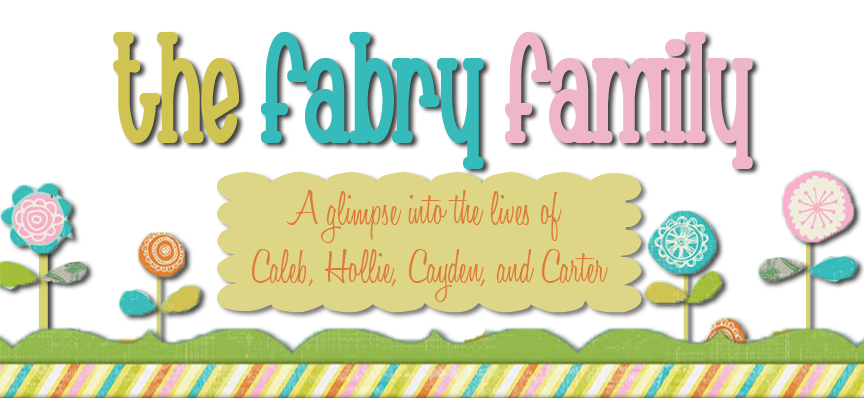 Welcome to The Fabry's Blog!!