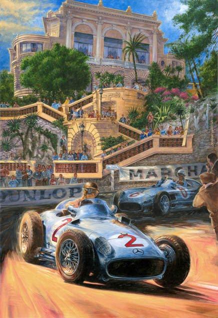 Juan Manuel Fangio-´55 Monaco
