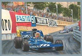 Jackie Stewart-Tyrrell 003 Cosworth