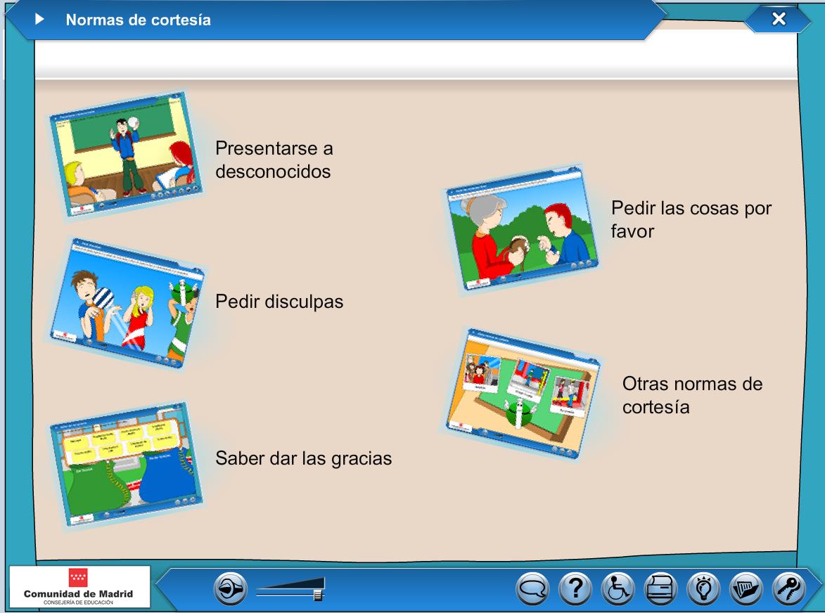 http://www.juntadeandalucia.es/averroes/carambolo/WEB%20JCLIC2/Agrega/Lengua/Normas%20de%20cortesia/contenido/sd15/oa_00/index.html
