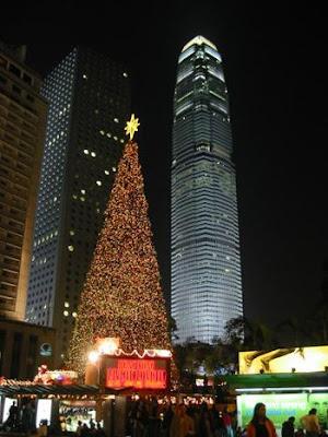 Pasar la Navidad en China