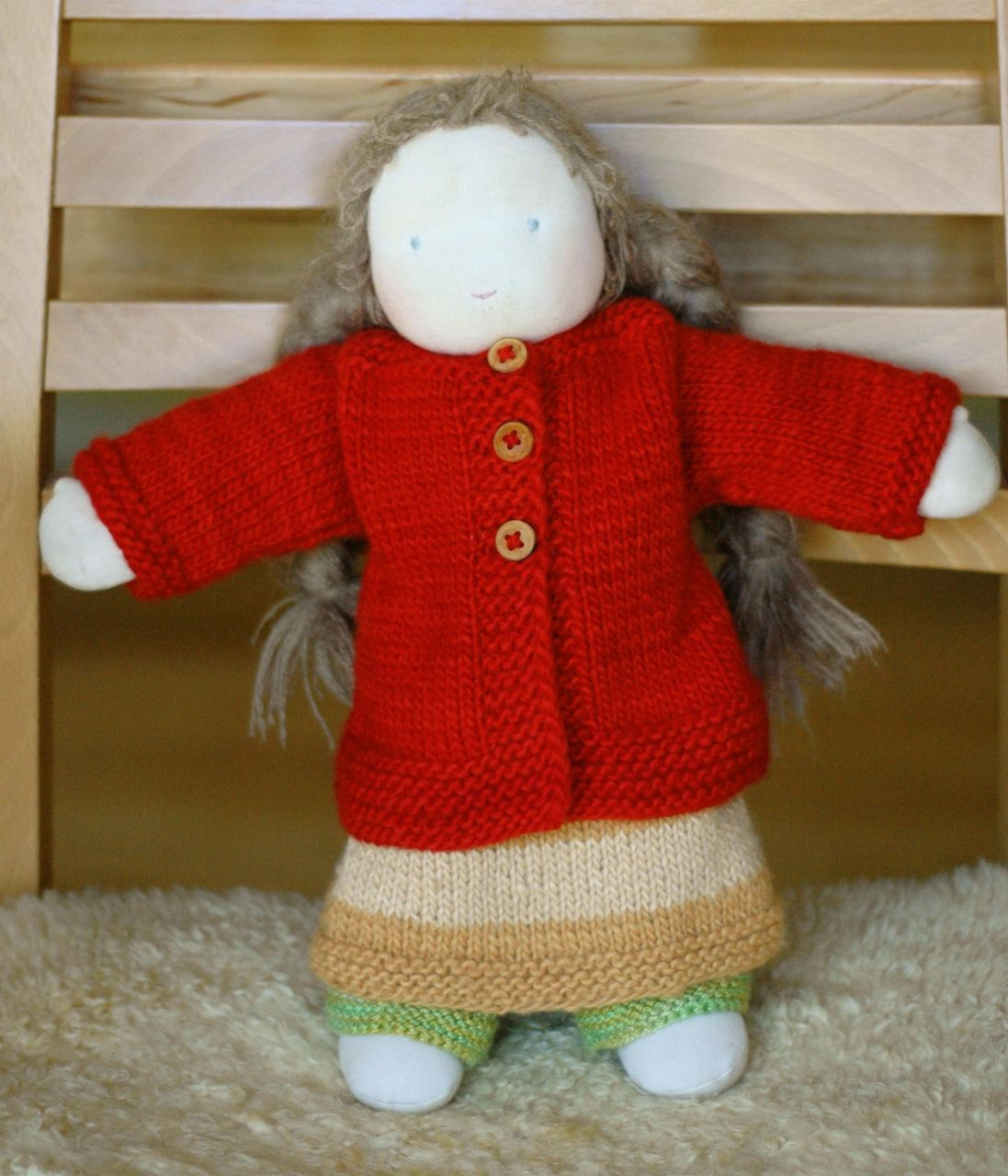Knitting for your doll - hand made, home made Christmas | little ...