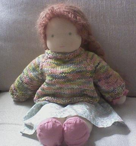 Free Knitting Pattern Dolls Jumper : Knitting for your doll - hand made, home made Christmas ...