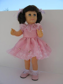 My dream doll for years became mine through the generosity and help of wonderful friends...
