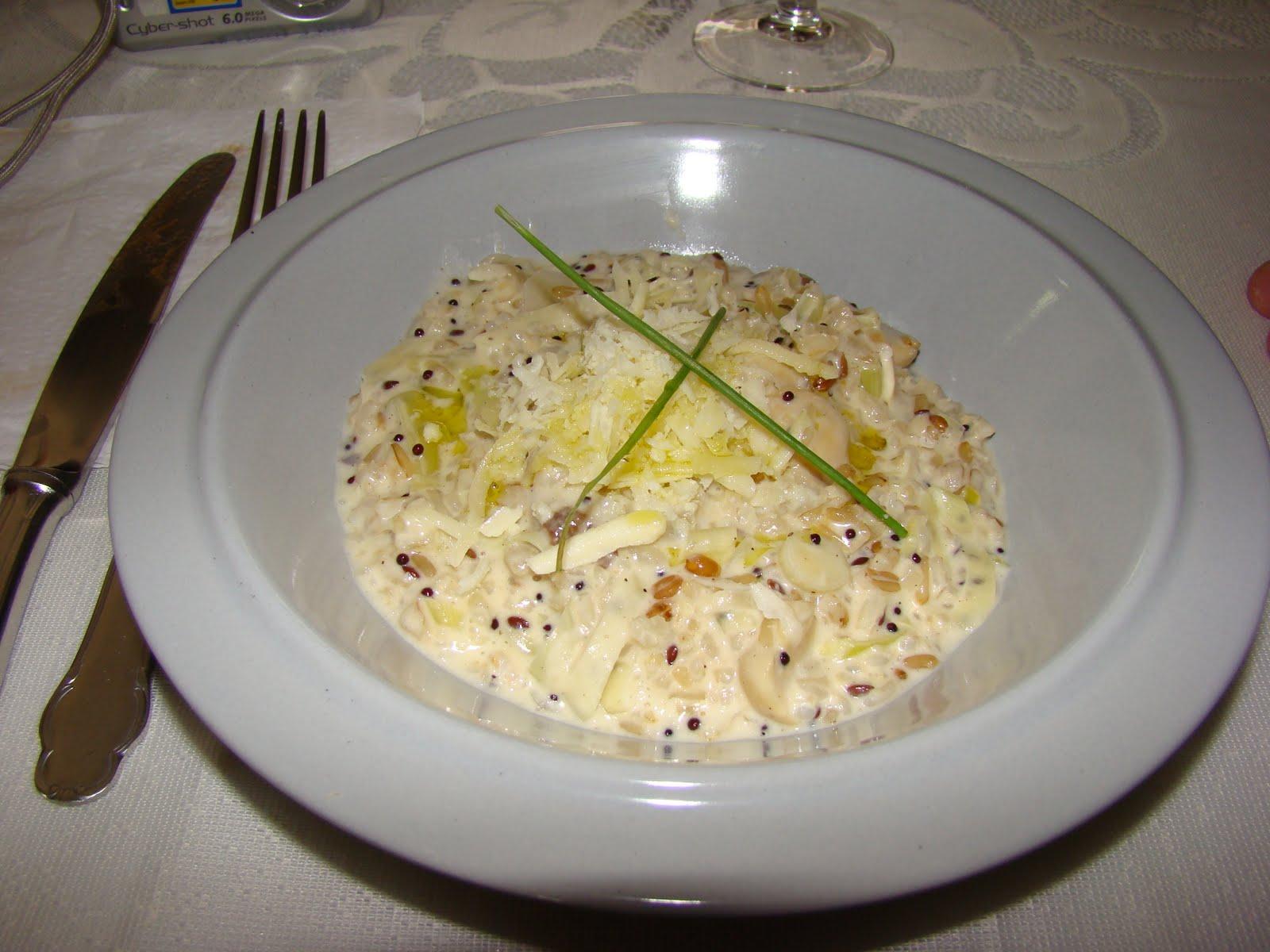 Comidas rumos risotto de arroz r ris - Risotto arroz integral ...