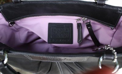 ... where to buy item code coach 13759 black leather pleated gallery tote bag  purse 96b75 228d1 03b56f8715