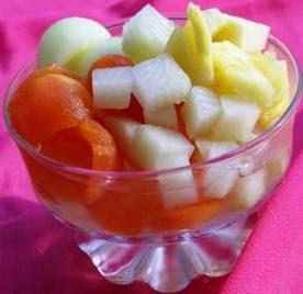 cara pembuatan es buah