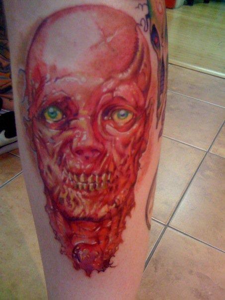 zombie tattoo. Zombie Tattoo I did on Venice