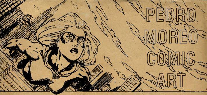 Pedro Moreo Comic Art