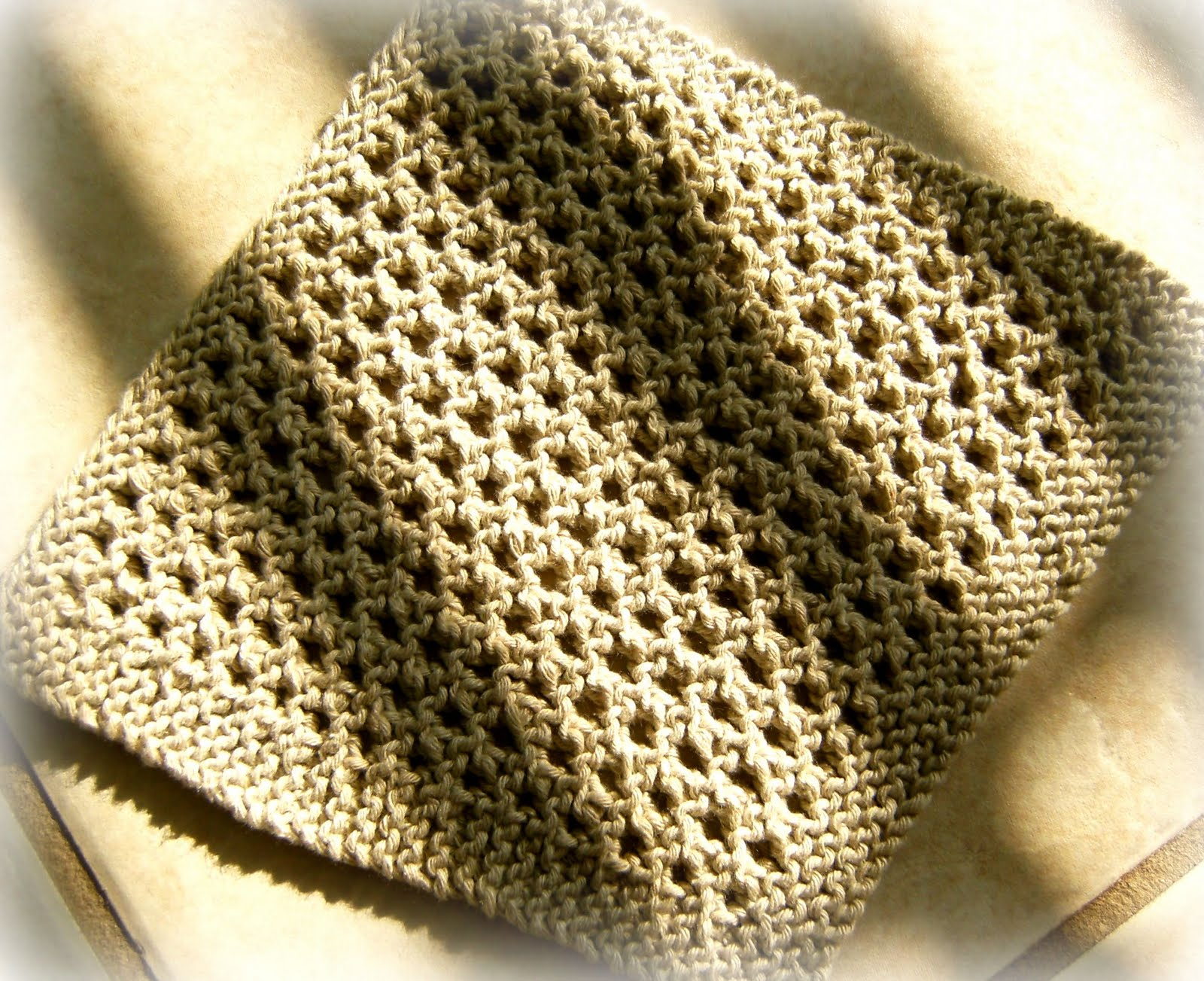 Living With Imperfection: Spa Washcloth