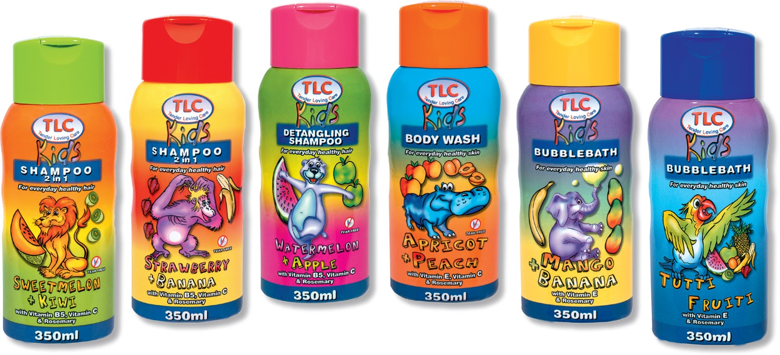 Bath Products : bath and shampoos for kids the tlc kids range has exciting products ...