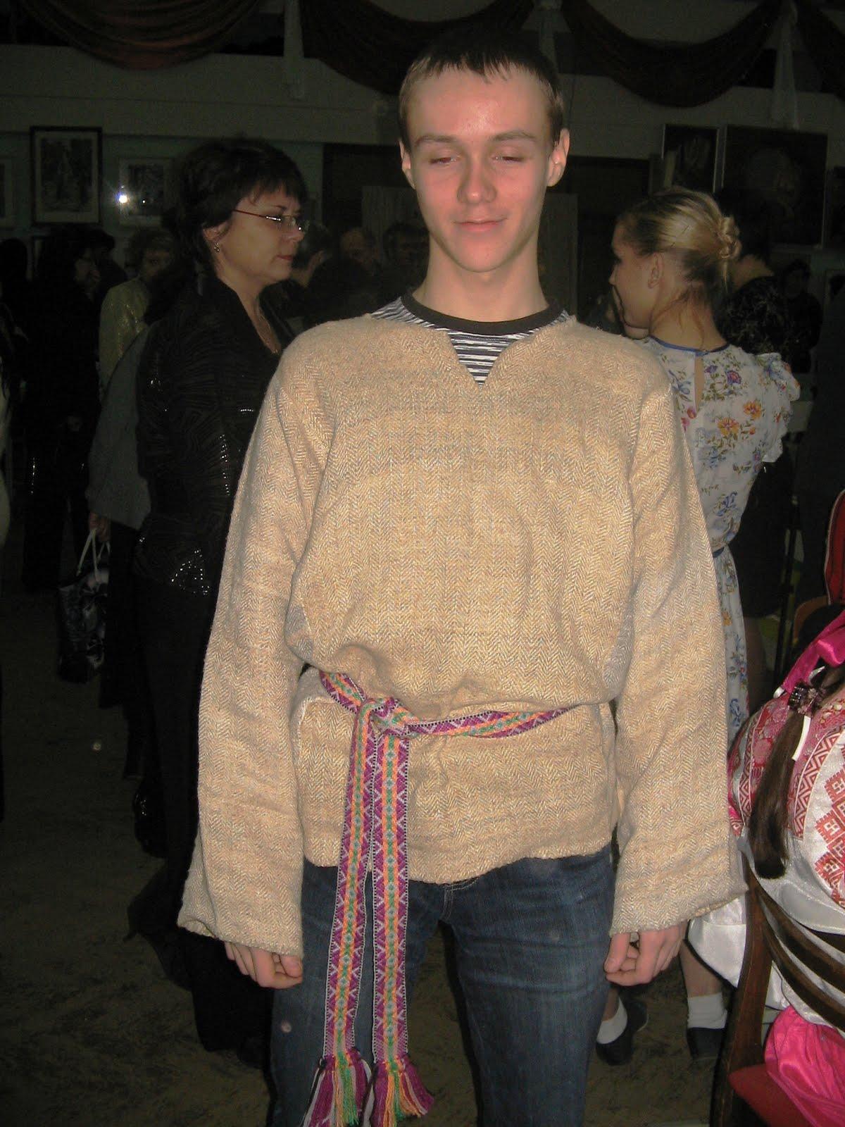 Крапивное полотно. О настоящем мастере. Баранов Валерий Фёдорович.