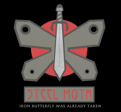 steel moth logo